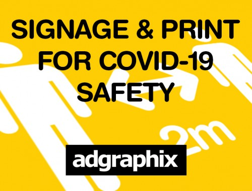 COVID-19 Signage and Printed Products